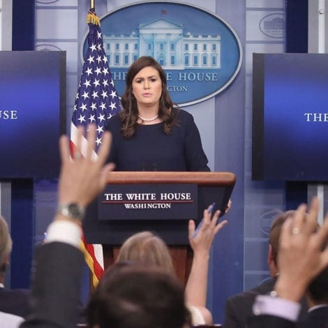 WATCH LIVE: White House Press Briefing Following McCabe's 'REMOVAL' from FBI