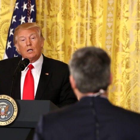 HELL FREEZES OVER: Trump Thanks 'CRAZY' Jim Acosta Over 'Schumer Shutdown'