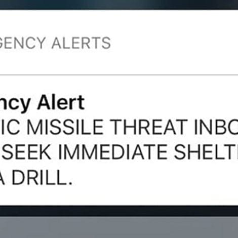 WHOOPS! Hawaiian Official Who Sent Missile Warning THOUGHT NUKE ATTACK Was Imminent