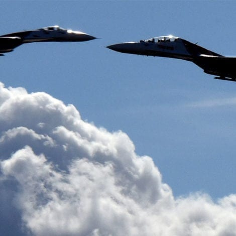 COLD WAR: Russian Fighter Jet Flies WITHIN 5 FEET of US Plane Over Black Sea
