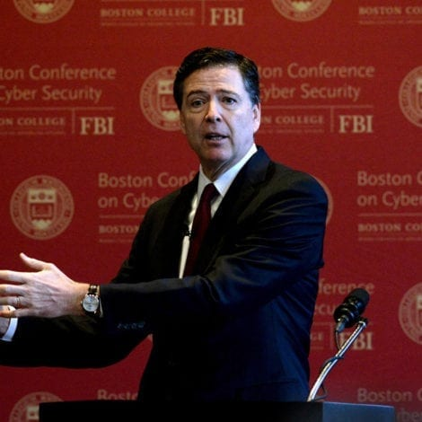 IRONY ALERT: James Comey to Teach 'ETHICAL LEADERSHIP' at Prestigious College