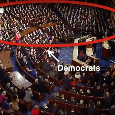 SOTU SIT-IN: Here's a List of Things DEMOCRATS Won't APPLAUD