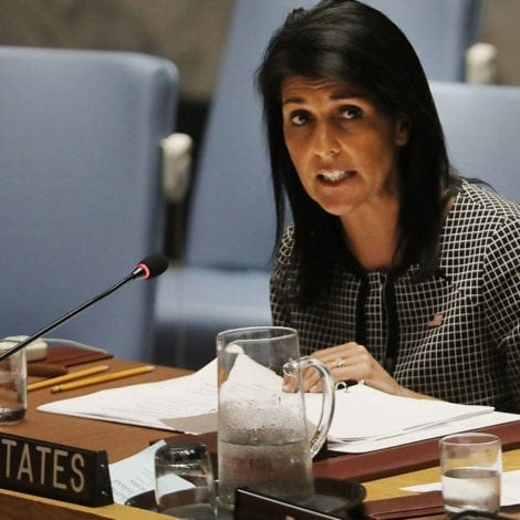 HALEY UNCHAINED: Nikki Haley GRILLS Palestinian President at UN