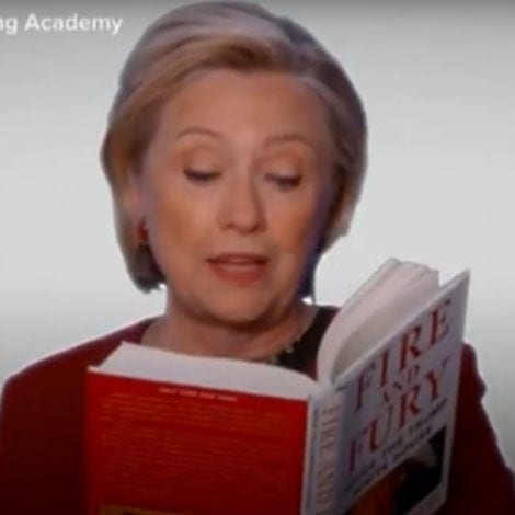 CLINTON MELTDOWN: Hillary TRASHES Trump at Grammys, Urges Her 'B****ES' to Fight Back