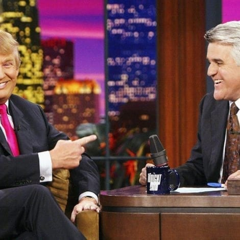 LENO LASHES OUT: Jay Leno Trashes 'DEPRESSING' Trump-Hating Late Night TV