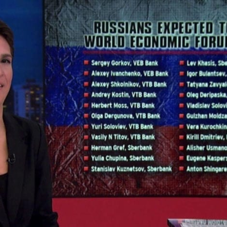 MAD MADDOW: Rachel Unveils 'THE TRUTH' Behind Trump's Davos Visit