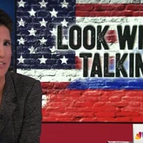 WHOOPS! Rachel Maddow Show SPARKED DRUNKEN Death Threats, FBI Investigation