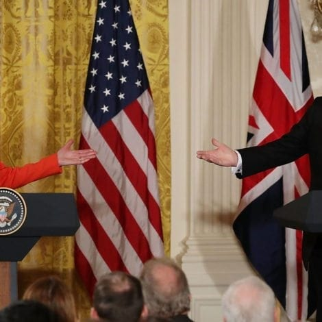 WATCH: UK Prime Minister DEFENDS Trump, Praises 'Commitment' to USA