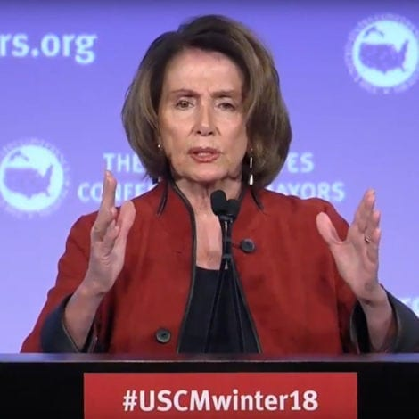 NASTY NANCY: Pelosi Says Trump's IMMIGRATION Plan Seeks to 'Make America White Again'