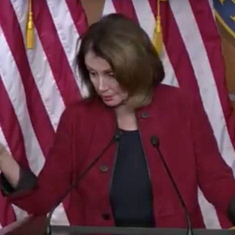 WHAT'S WRONG WITH NANCY? Pelosi Stutters, Calls Tax Cuts 'CRUMBS'