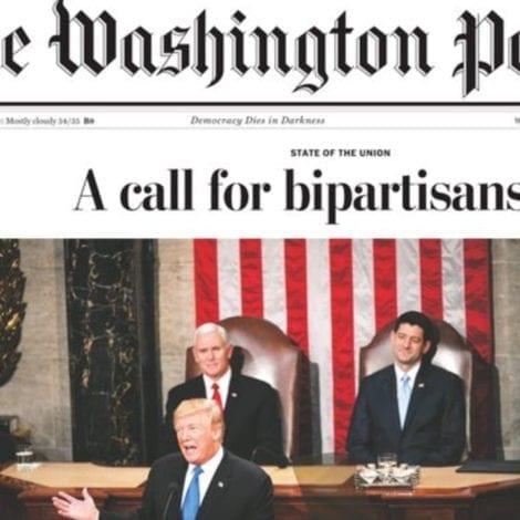 FAKE NEWS ALERT: Washington Post Ditches PRO-TRUMP HEADLINE After Liberals Complain