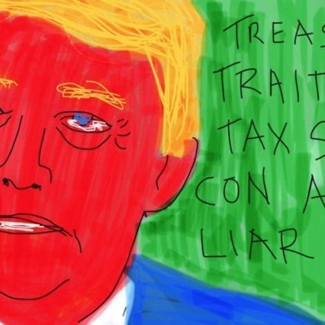 ROSIE'S REVENGE: O'Donnell POSTS HIDEOUS Anti-Trump Artwork