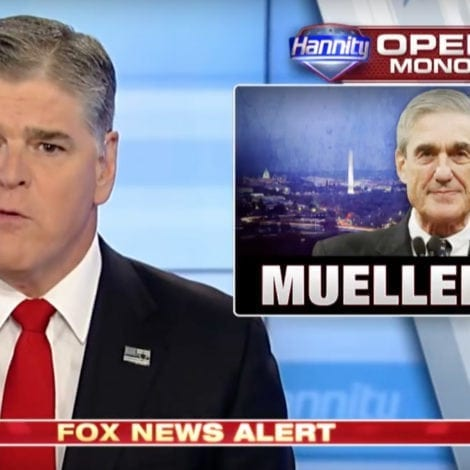 HANNITY: Mueller's Probe Has MORPHED into a 'Democratic HIT JOB'