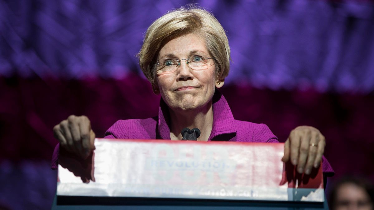image for HOW CONVENIENT! Now Running Out of Cash, Warren Softens Position on New ...