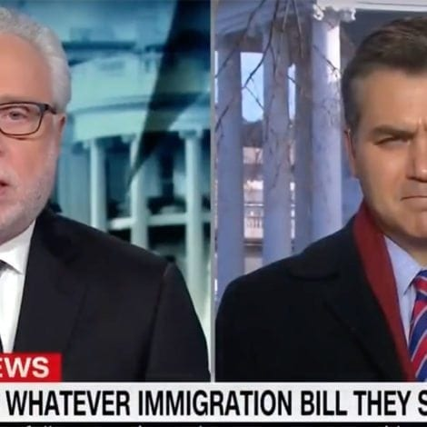 HELL FREEZES OVER: CNN Gives Trump 'A LOT OF CREDIT' for Immigration Talks