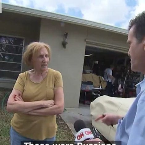 DESPICABLE: CNN Ambushes Trump Supporter AT HER HOME, Accuses Her of COLLUDING with Russians