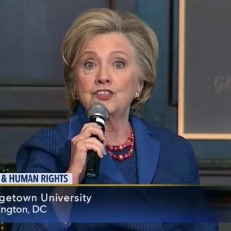 HERE WE GO AGAIN: Hillary Blames 'SEXIST' and 'FRIGHTENED' Trump Voters for 2016 DEFEAT