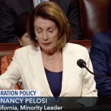BOOK OF NANCY: Pelosi Invokes THE POPE, ROSARY During EIGHT HOUR DACA Rant