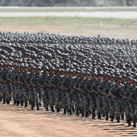 ON THE BRINK: China Deploys 300,000 SOLDIERS to Kim's Doorstep
