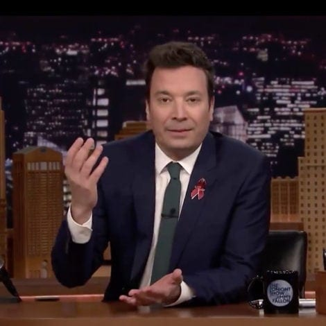 LATE NIGHT LECTURE: Jimmy Fallon JOINS THE RESISTANCE, Will Attend ANTI-GUN DC March