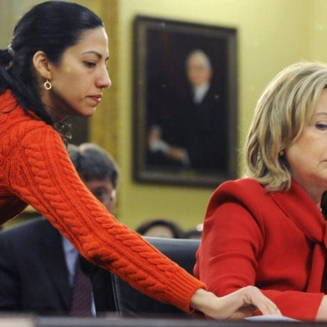 FBI MYSTERY DEEPENS: DOJ Officials Weighed Giving HUMA ABEDIN IMMUNITY After Hillary Probe