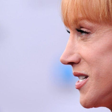 SHE'S BACK: Crazed Kathy Griffin ACCUSES John Kelly of DOMESTIC VIOLENCE