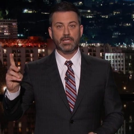 LATE NIGHT LECTURE: Jimmy Kimmel MOCKS 'MENTALLY ILL' Trump After Florida Shooting
