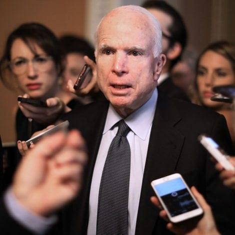 McCAIN'S MUTINY: McCain Pushes NEW IMMIGRATION BILL to KILL Border Wall Funding