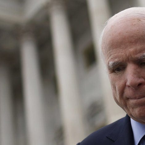 McCAIN'S MUTINY: McCain BLASTS FISA Memo, Says Mueller Probe 'MUST PROCEED'