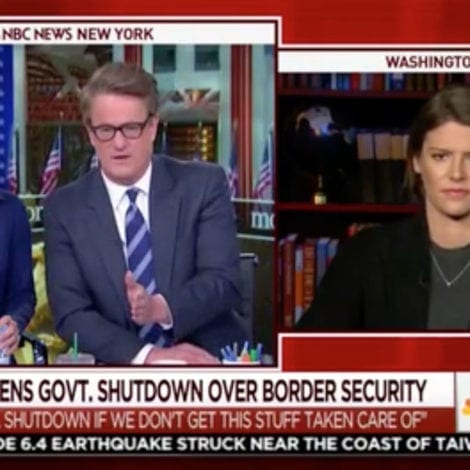 HELL FREEZES OVER: 'Morning Joe' Admits 'MOST AMERICANS' Agree with Trump on Immigration