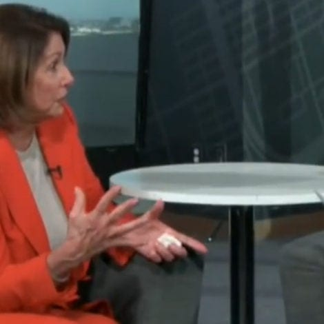 WHAT'S WRONG WITH NANCY? Pelosi Suggests 'MOWING GRASS' to Defend Southern Border