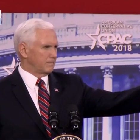 GAME OVER: Pence CALLS OUT NFL During Fiery CPAC Speech