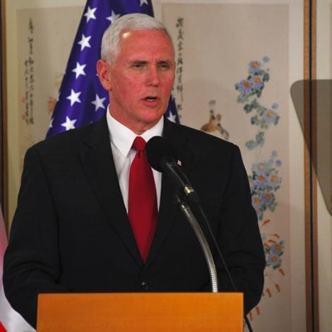 DOOMSDAY DELAY: VP Pence OPEN TO TALKS with North Korean Officials at Winter Olympics
