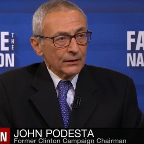 OUCH: Reporter GRILLS John Podesta Over Clinton's 'PURPLE STATE' Disaster