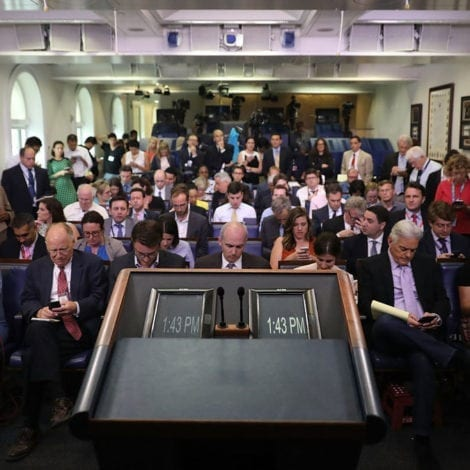 WATCH LIVE: White House Press Briefing with Principal Deputy Press Secretary Raj Shah