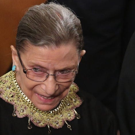 MACHO MADNESS: Ruth Bader Ginsburg Blames CLINTON LOSS on Trump's 'MACHO' Attitude