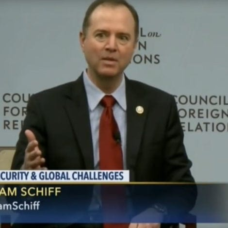 ADAM'S ADMISSION: Schiff Says OBAMA ADMIN to Blame for Russian Meddling