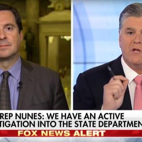 NUNES ON HANNITY: FBI Used 'POLITICAL DIRT' to SPY ON TRUMP