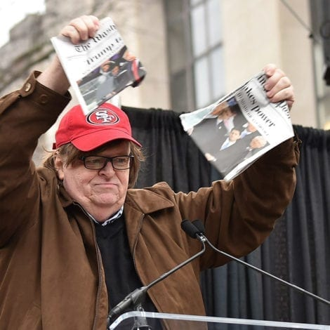 RUSSIAN STOOGE: Michael Moore Says FIRST FAMILY Should be 'Taken Away in Chains'