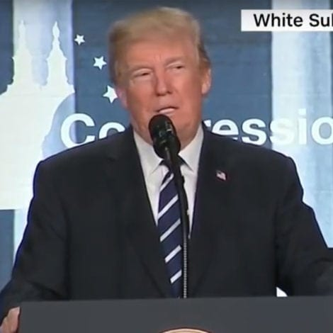 WATCH: Trump Compares Pelosi's 'CRUMBS' to Hillary's 'DEPLORABLES'