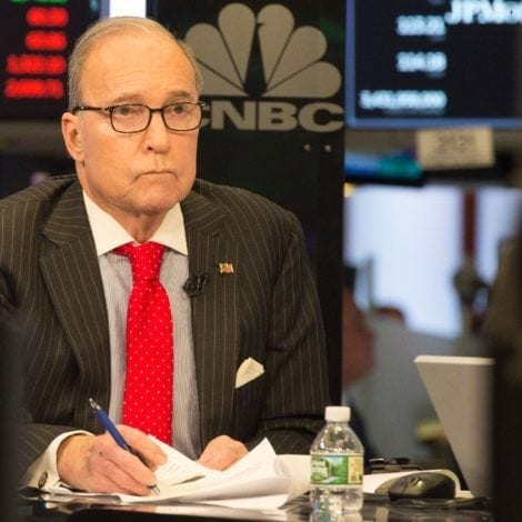 Why Trump Chose CNBC's Kudlow to Replace Cohn as Economic Adviser