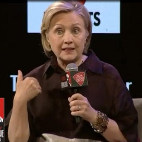 CLINTON GOES NUCLEAR: Hillary Says 'WHITE WOMEN' Were Forced to Vote for Trump by Their Husbands