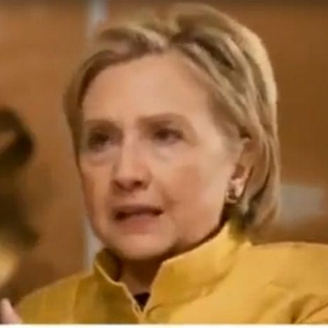 HILLARY UNHINGED: Clinton Says Trump 'UNDERMINING' Global Stability
