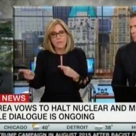 HELL FREEZES OVER: NY Times Reporter Admits Trump Deserves 'ENORMOUS CREDIT' for North Korea Progress