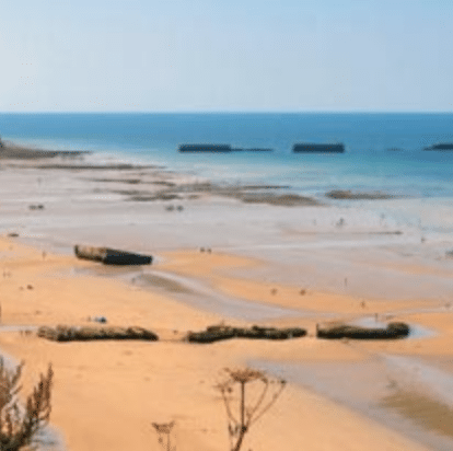 Beaches of Normandy, France