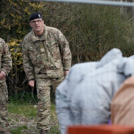 'STAY INDOORS': UK Armed Forces Enters SECOND TOWN Over Russia POISON PLOT
