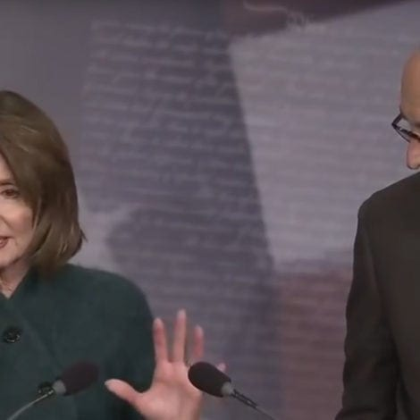 VICTORY LAP: Pelosi and Schumer CHEER Massive, 'RUSHED' Spending Bill