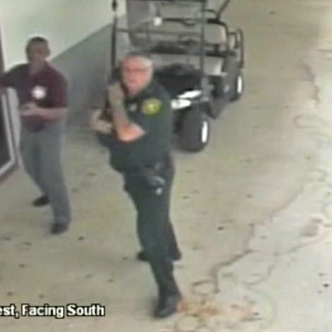 BROWARD COWARD: New Video Shows DEPUTY WAITING Outside as MASSACRE Unfolds