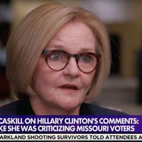 HELL FREEZES OVER: Democrat Senator Tells HILLARY to 'RESPECT' Trump Voters