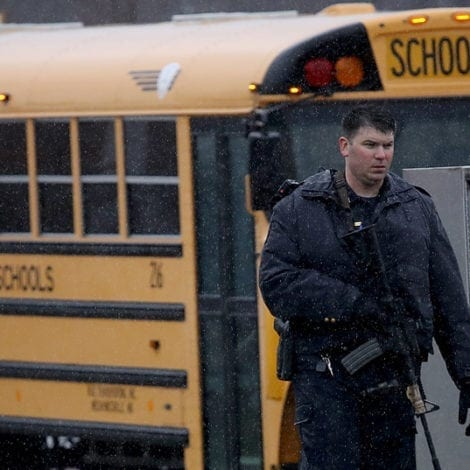 GOOD GUY WITH A GUN: Armed Guard WHO STOPPED School Massacre IDENTIFIED